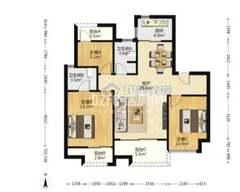 (西外)和悦府3室2厅2卫130万100m²毛坯房出售