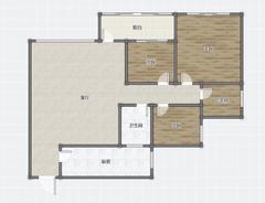 (西外)御景上城3室2厅2卫75万110m²出售