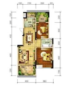 (北外)江湾城二期左岸2室2厅1卫66万83m²毛坯房出售