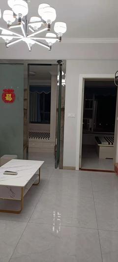 精装修!(西外)仁和春天国际2室2厅1卫55m²温馨舒适 有钥匙好房急租