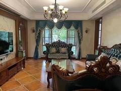 江湾城低层小洋房  豪装四房,全屋实木家具。