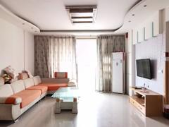 精装修!(南外)自由心岸3室2厅1卫109m²温馨舒适 有钥匙好房急租