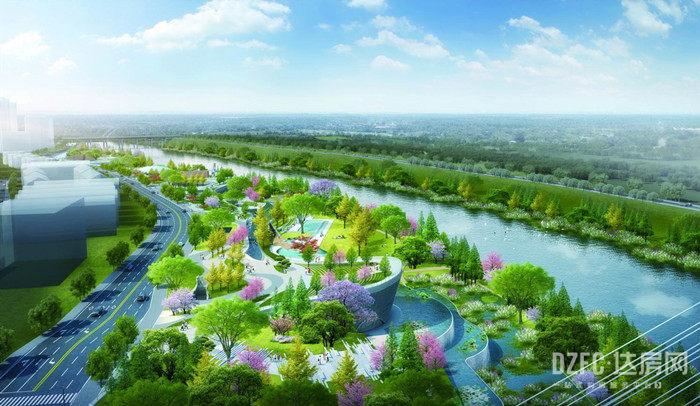 公园绿意,州河上游丨世光·公园城邦传承一脉山水生态梦
