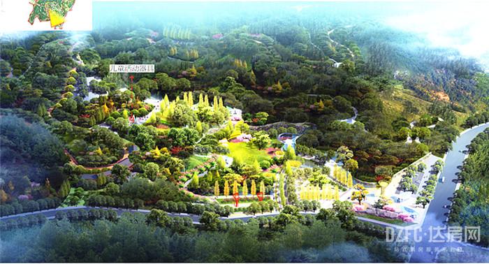 效果图超惊艳!达城四大新公园正在路上!你期待吗?