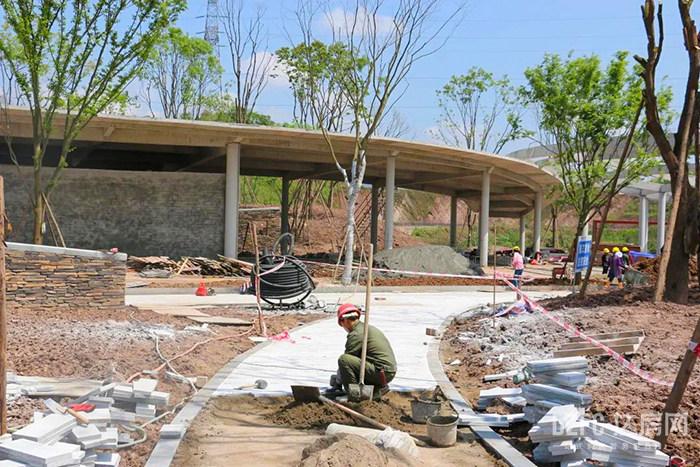 达州 城市 城市建设 公园 子槽沟 滨水公园 北外 城北新区