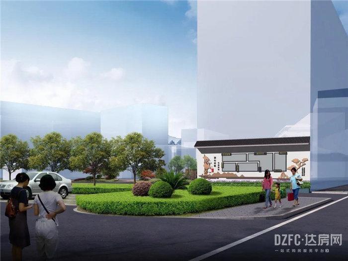 超惊艳!达州堰坝安置小区效果图出炉,未来是这个样!