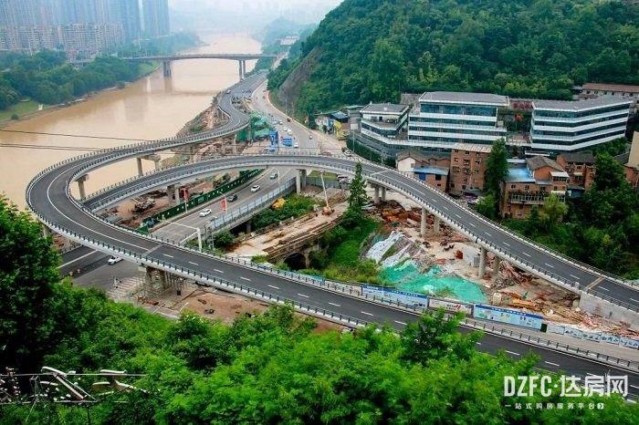 大事记 修路 修桥 修高铁 城市建设 城建 住在达州