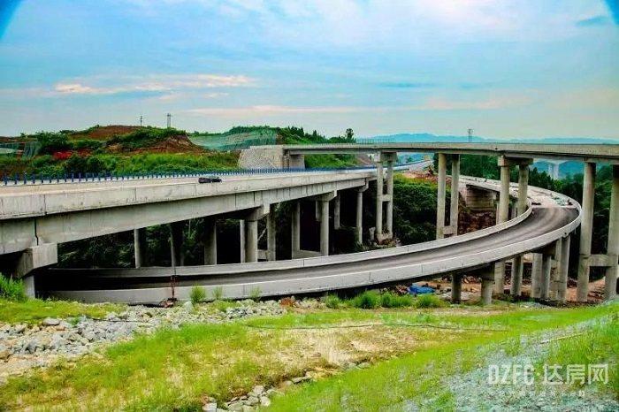 达州 达房网 河市 营达高速 高速 道路 交通