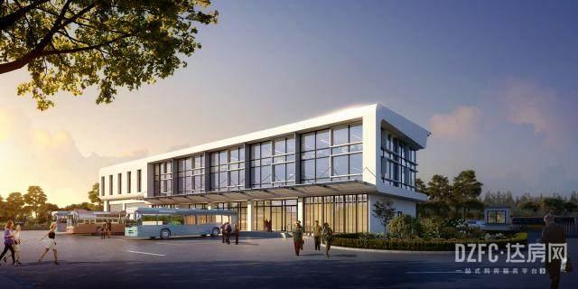 达州 达房网 住在达州 城市建设 城建 马踏洞 马踏洞金融城 公交 首末站 规划 效果图 方案 设计