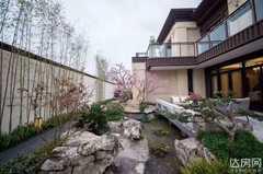 蓝光芙蓉风华  119㎡ 100万元送70几平方的花园